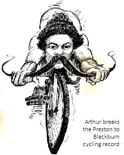 Arthur breaks   